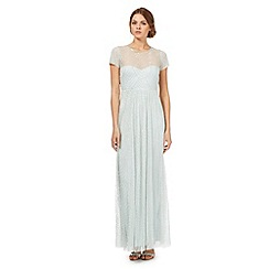 No. 1 Jenny Packham - Light green beaded maxi dress