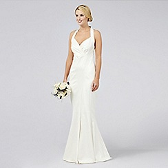 Debut - Destiny Halter Neck Satin Bridal Dress