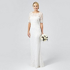 Debut - Ivory 'Paloma' lace and beaded wedding dress