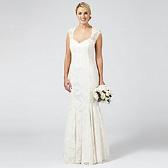 Ben De Lisi Occasion - Ivory embroidered 'Lorelei' wedding dress