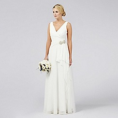 Debut - Emilia Grecian Waterfall Bridal Dress