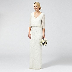 Ben De Lisi Occasion - Ivory 'Margerite' embellished wedding dress