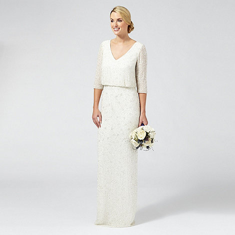 Ben De Lisi Occasion Ivory Embellished Margerite V Neck Wedding Dress