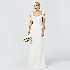Ben De Lisi Occasion - Ivory sequin 'Julianne' wedding dress
