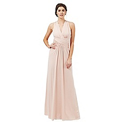 Butterfly by Matthew Williamson - Blush pink 'Cleo' jersey maxi dress