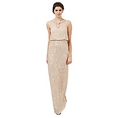 Butterfly by Matthew Williamson - Rose pink 'Felicity' embellished evening dress