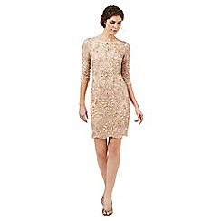 Butterfly by Matthew Williamson - Nude 'Liberty' embellished dress