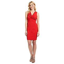 Ariella London - Red 'Margot' tie knot dress