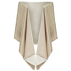 Ariella London - Ivory 'Liv' satin stole