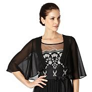 Black chiffon cover up