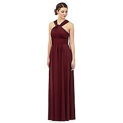 Debut - Dark red multiway evening dress