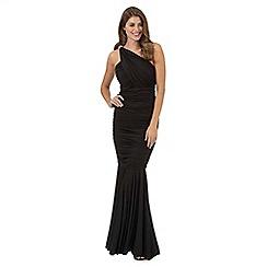 Debut - Black stone embellished maxi dress