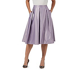 Debut - Purple pleated skirt