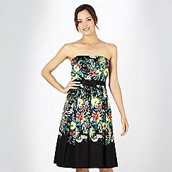 Debut - Black floral dress