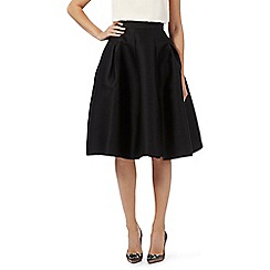 No. 1 Jenny Packham - Black 'Diana' flared skirt