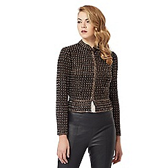 No. 1 Jenny Packham - Black bead embellished jacket