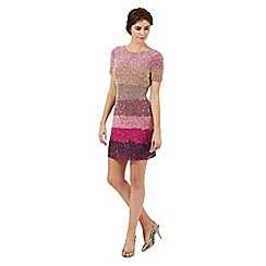 Butterfly by Matthew Williamson - Pink 'Horizon' sequinned shift dress