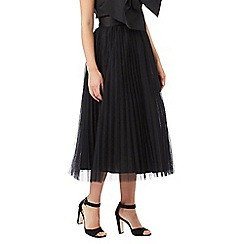 Siren by Giles Deacon - Black pleated skirt
