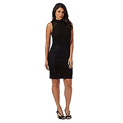 Ariella London - Black 'Jayla' knee length dress