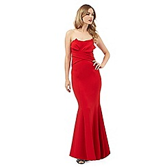 Ariella London - Bright red 'Katinka' maxi dress