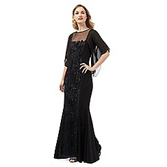Ariella London - Black 'Willow' maxi dress