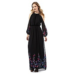 Ariella London - Black 'Sheba' maxi dress