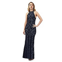 Ariella London - Navy 'Rolo' maxi dress