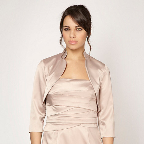 Debut - Light gold collar bolero