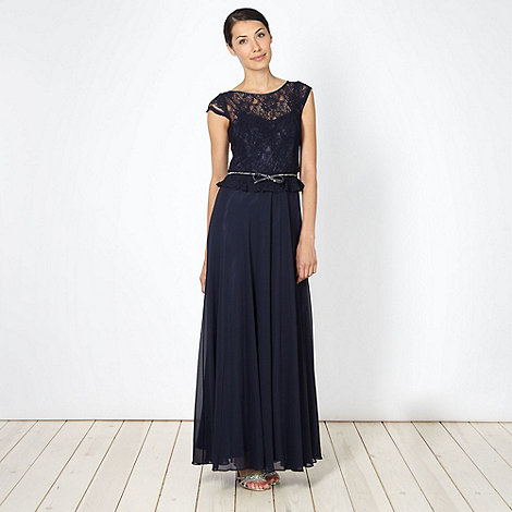 No. 1 Jenny Packham - Designer lace bodice maxi dress