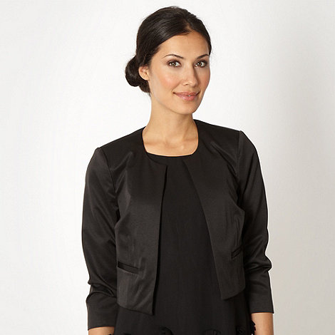 Debut - Black collarless jacket