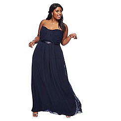 Debut - Navy 'Sophia' plus size bridesmaid dress