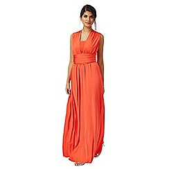 Debut - Orange multiway evening dress