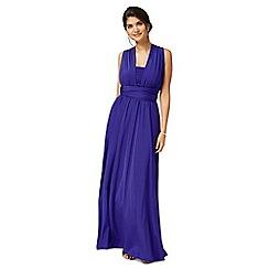 Debut - Blue multiway evening dress