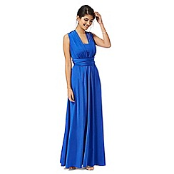 Debut - Blue multiway evening dress