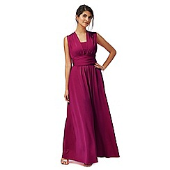 Debut - Bright pink multiway evening dress