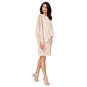 Debut Light pink 'Thana' shift dress