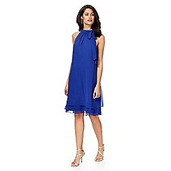Debut - Bright blue 'Elsa' shift dress