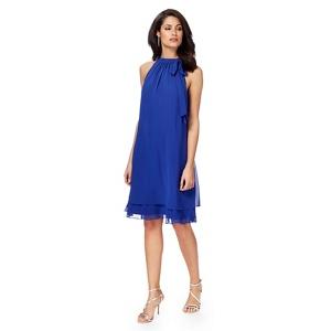 Debut Bright blue 'Elsa' shift dress