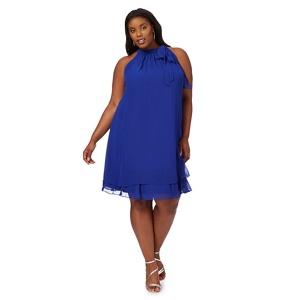 Debut Bright blue 'Elsa' plus size shift dress