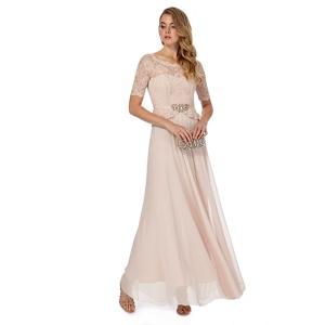 No. 1 Jenny Packham Light pink 'Selena' evening dress