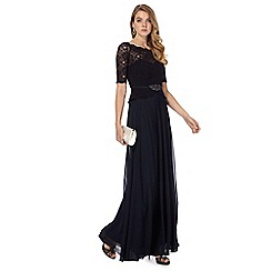 No. 1 Jenny Packham - Navy 'Selena' evening dress
