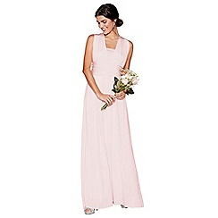Debut - Light pink multiway maxi dress