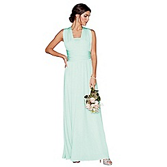Debut - Light green multiway maxi dress
