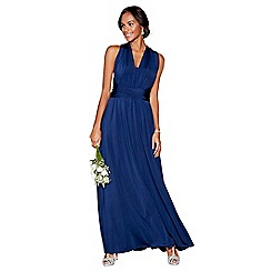 Debut - Navy multiway full length dress