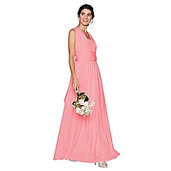 Debut - Coral multiway maxi dress