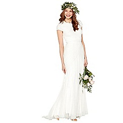 Nine by Savannah Miller - Ivory 'Anabella' wedding dress