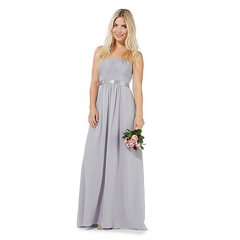 Debut Grey 'Sophia' evening dress | Debenhams
