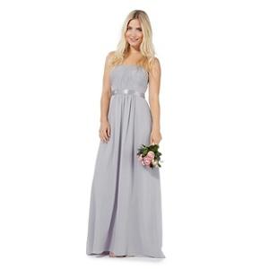 Plus Size Debut Grey 'sophia' Evening Dress