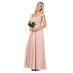 Debut - Light pink 'Petra' evening dress