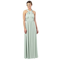 Debut - Light green multiway evening dress